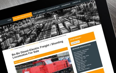 Romic - international sales of used locomotives