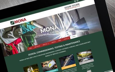 Mona Lifting - lifting gear, engineering, cranes and metal finishing located on Anglesey, North Wales